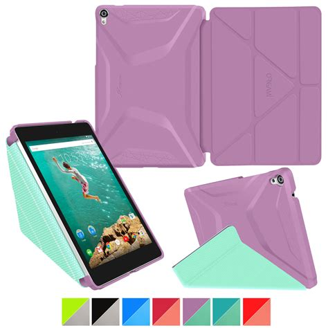 roocase origami 3d slim shell smart cover for