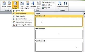 membuat footer berbeda setiap halaman hencopy membuat page number berbeda posisi pada halaman