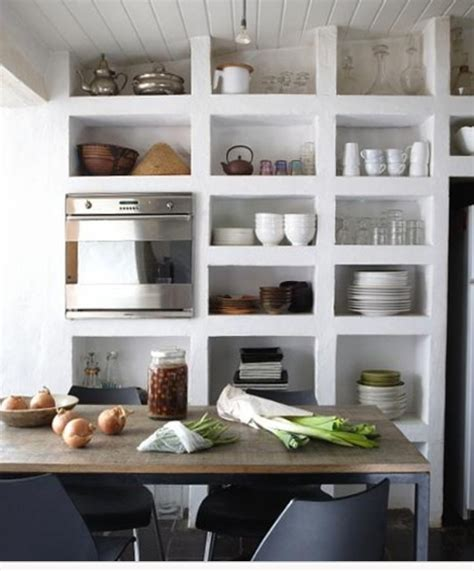 kitchen with shelves instead of cabinets pin by suzie gomez on home is where the heart is pinterest