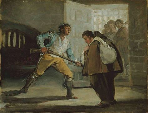 libro goya basic art 2 0 file francisco de goya el maragato threatens friar pedro de zaldivia with his gun jpg