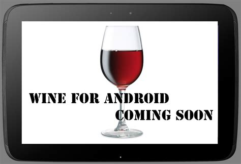 wine for android coming soon androidmeter - Wine For Android
