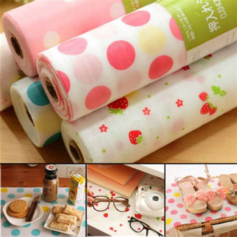 best contact paper for kitchen drawers aliexpress buy 300x30cm polka dots shelf contact