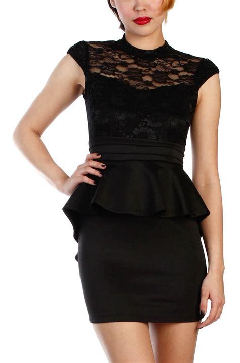 lace peplum dress dressed up