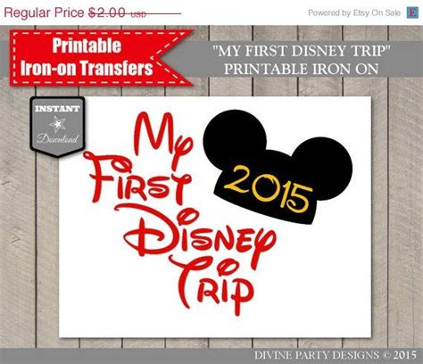 do printable iron on transfers work 17 best images about disney trip on pinterest family