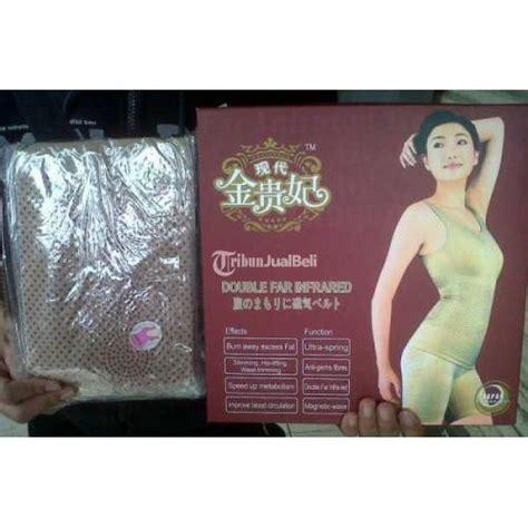 monalisa slimming suit infrared baju korset pelangsing tubuh cepat jakarta pusat dijual