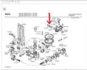 Bosch Dishwasher Spare Parts Uk Bosch 2002 Dish Washer Model Sgs 4472 Show Parts List