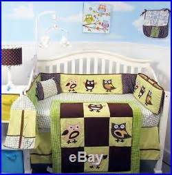 Neutral Baby Bedding With Owls 02 October 2016 Nursery Decor Baby