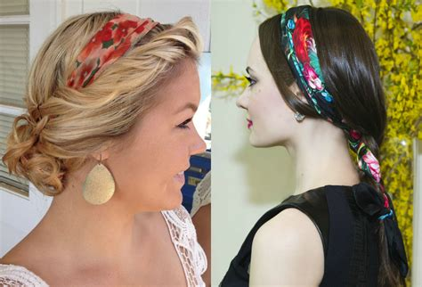 Scarf Hairstyles by Hairstyles With Bandana Scarves Hairzstyle