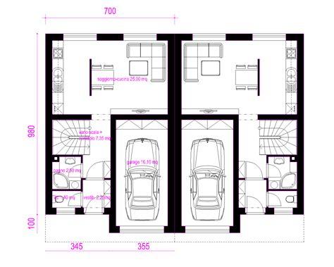 Progetto Casa Bifamiliare by Progetti Di In Legno Casa Bifamiliare 2 X 144 Mq