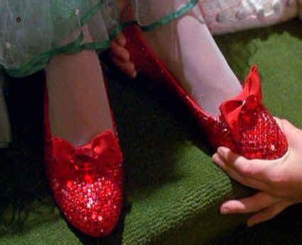 return to oz ruby slippers ruby slippers disneywiki