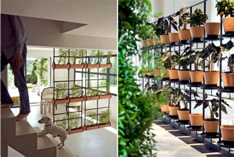Small Space Living Ideas by 20 Ideas For Hanging Flower Pots Indoor Plants Exhibit