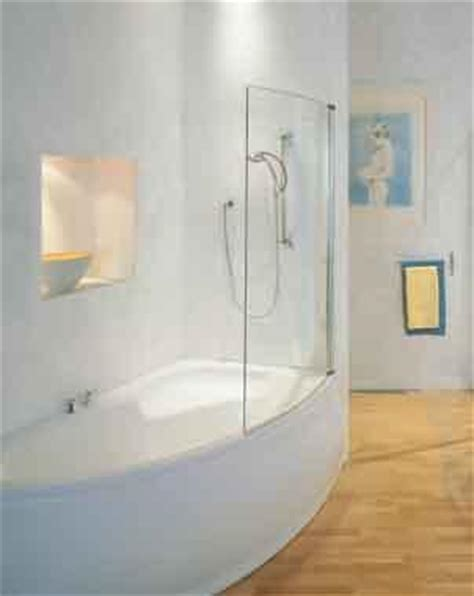 curved shower screen for corner bath loire curved corner bath screen white k196