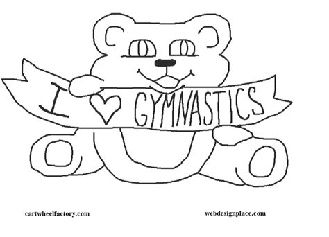 cwf rubber flooring inc coloring book pages of gymnastic