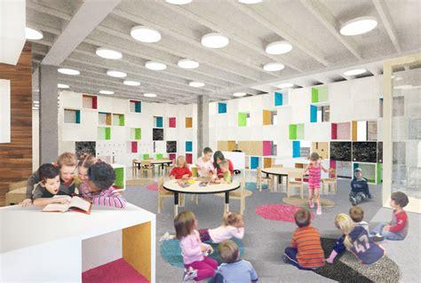 Residential Architecture: Reggio Emilia School, Chicago IL