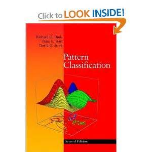 Pattern Classification Duda | pattern classification 2nd edition richard o duda