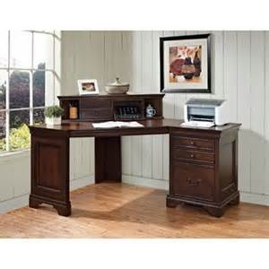 Computer Corner Desk With Hutch E Ready Wayfair