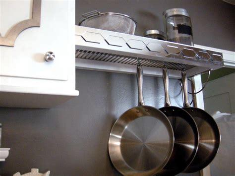 How To Make A Pot Rack how to build a pot rack with shelf hgtv