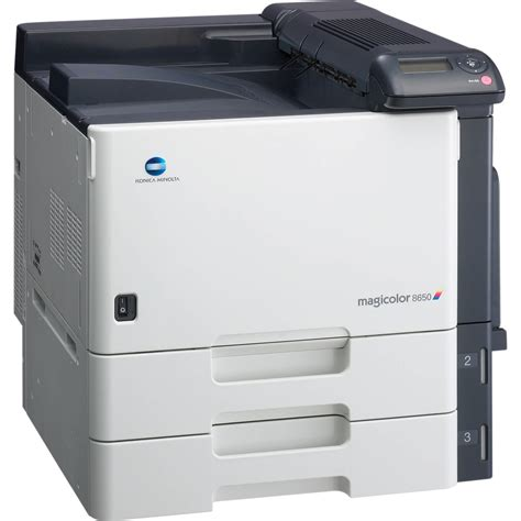 Printer Laser Warna Konica Minolta konica minolta magicolor 8650dn network color laser a02e01a b h