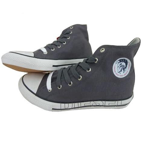high top designer sneakers new diesel mens designer high top shoes canvas casual