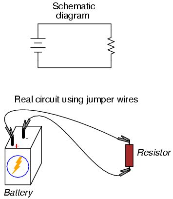 resistor circuit builder building simple resistor circuits