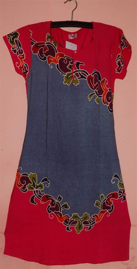 Daster Serut Batik batik daster rayon cv pertiwi anggun