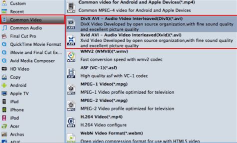 avi file audio format rip convert blu ray to avi without quality loss