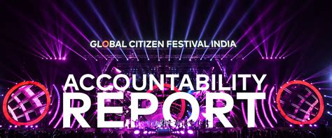 global citizen festival india 6 months on what impact