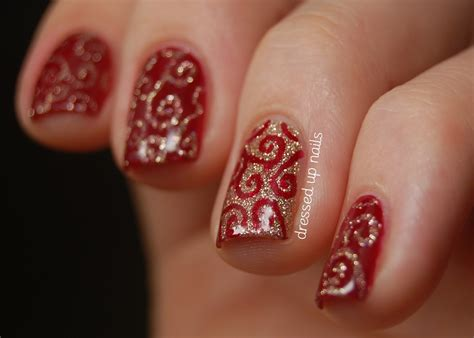 images of christmas nails christmas french tip nail designs