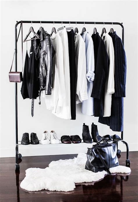 Wardrobe Clothes Rack by Beautiful Black Clothing Rack For Storage Decoist