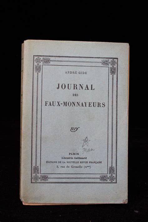 journal des faux monnayeurs le journal des faux monnayeurs
