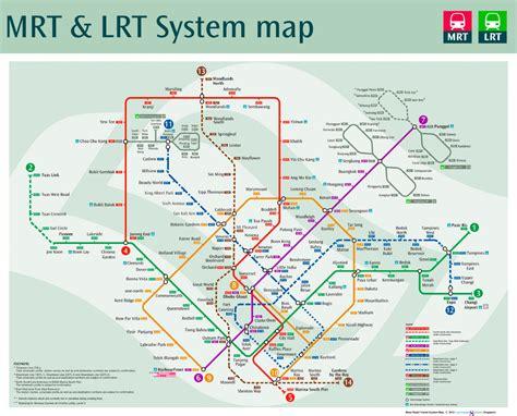 singapore mrt map future map singapore mrt with future extensions transit maps