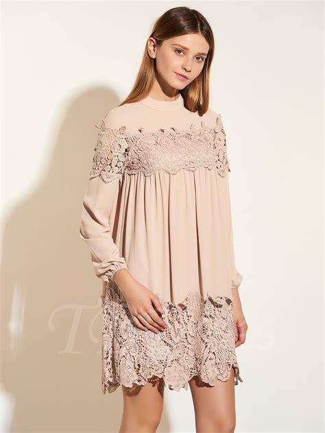 Elegant Nine Points Sleeve Straight Women's Day Dress