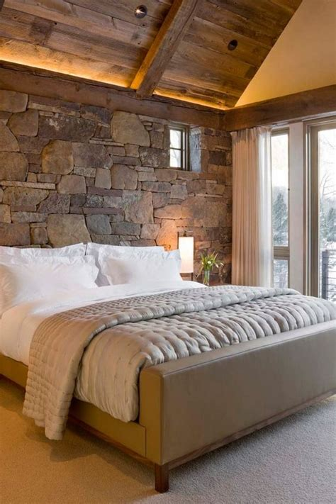 stone accent wall bedroom 31 stone accent wall ideas for various rooms digsdigs