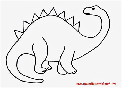 dinosaur applique template appliqu 233 pinterest