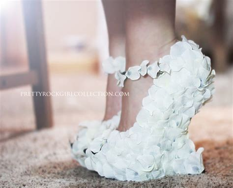 Chagne Wedge Wedding Shoes by Petal Wedge Wedding Shoes Bridal Shoes Made
