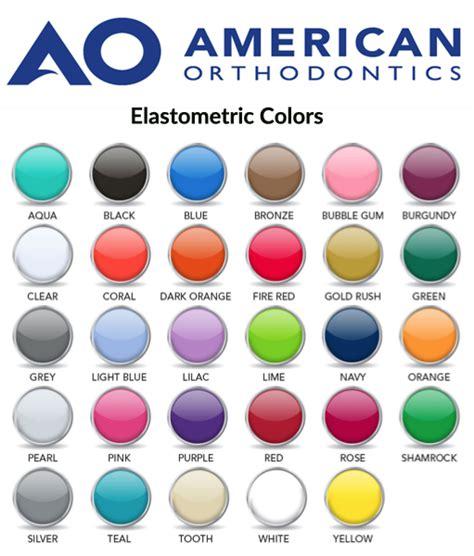 clear braces with color our dallas braces color picker dallas highland park
