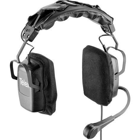 Earphone Hifi Tranparent Dual Dynamic With Microphone rts ph 2 dual sided headset with dynamic boom mic