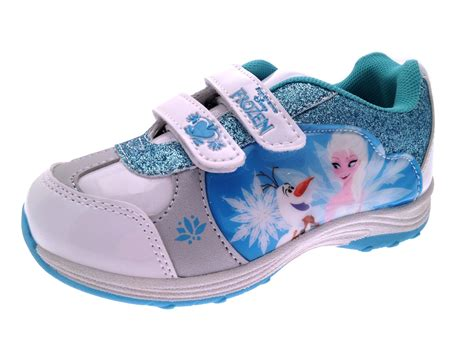 frozen shoes frozen elsa olaf glitter trainers character sports