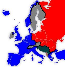 countries behind iron curtain iron curtain new world encyclopedia
