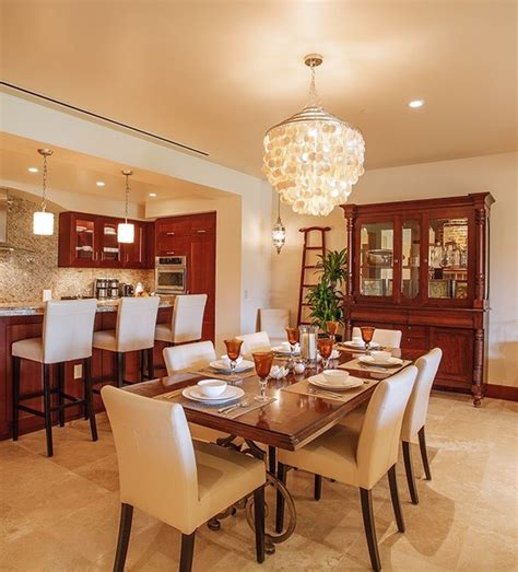 decor fusion blending styles tropical dining room