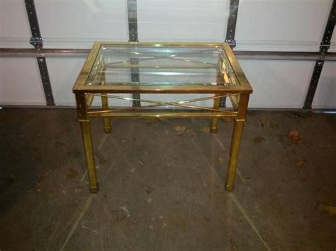 Coffee Table Craigslist Brass Glass Side Table Craigslist Finds Glass Side Tables Brass And Tables