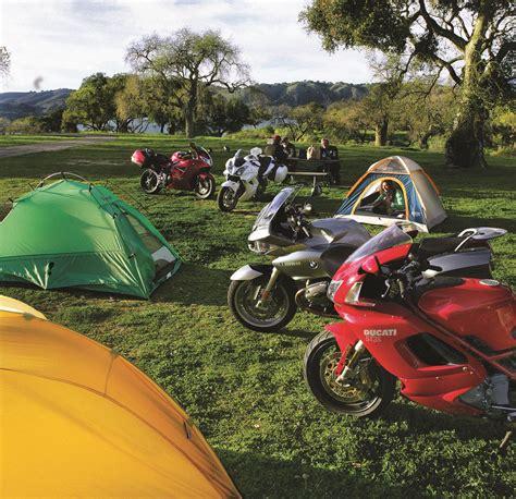 motorcycle camping  rider magazine rider magazine