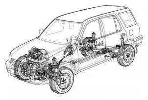 Honda Crv Brake System Diagram 1999 Honda Crv Engine Diagram Get Free Image About