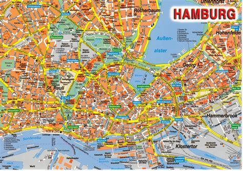 Hamburg Karte by News Tourism World Hamburg Stadt Karte Bilder