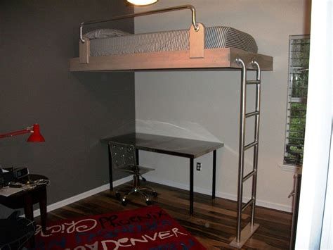 personalized beds custom loft bed by borders woodworks custommade