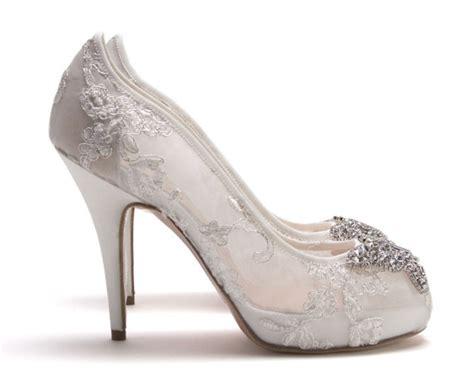 silver lace high heels silver lace heels fs heel