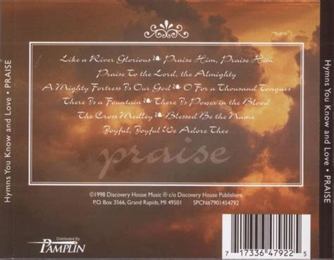 discovery house music the discovery singers hymns you know and love praise 1998
