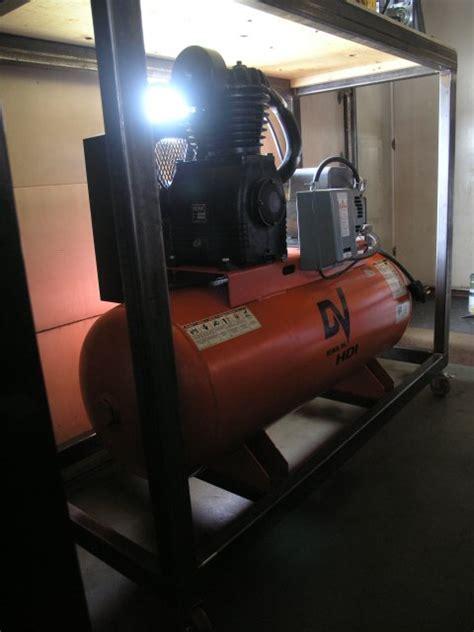 sound enclosure for air compressor