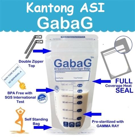 Gabag Best Product kantong asi gabag pumpingasi