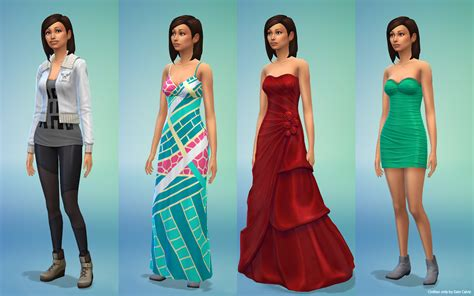 Best 2 Color Combination by The Sims 4 Deiv Calviz Illustrations Concept Art